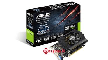 ASUS GTX 750 OC 1GB 128Bit DDR5